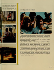 Page 11, 1984 Edition, Northwest Missouri State University - Tower Yearbook (Maryville, MO) online yearbook collection