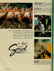 Page 10, 1989 Edition, Northwest Missouri State University - Tower Yearbook (Maryville, MO) online yearbook collection