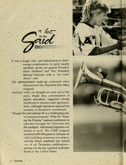 Page 8, 1989 Edition, Northwest Missouri State University - Tower Yearbook (Maryville, MO) online yearbook collection