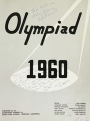 Page 5, 1960 Edition, South High School - Olympiad Yearbook (Torrance, CA) online yearbook collection