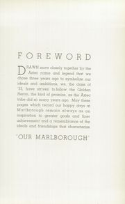 Page 9, 1933 Edition, Marlborough High School - Sundial Yearbook (Los Angeles, CA) online yearbook collection
