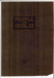 1925 Edition, McKinley Junior High School - Purple and Gold Yearbook (Los Angeles, CA)