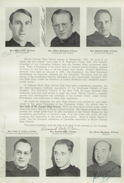 Page 17, 1944 Edition, Mount Carmel High School - El Conquistador Yearbook (Los Angeles, CA) online yearbook collection