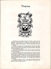 Page 9, 1960 Edition, Mount Carmel High School - El Conquistador Yearbook (Los Angeles, CA) online yearbook collection