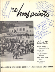 Page 4, 1950 Edition, Woodrow Wilson High School - Hoofprints Yearbook (Los Angeles, CA) online yearbook collection