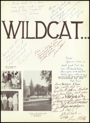 Page 7, 1954 Edition, Los Gatos High School - Wildcat Yearbook (Los Gatos, CA) online yearbook collection