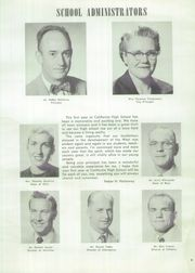 Page 13, 1954 Edition, California High School - Talon Yearbook (Whittier, CA) online yearbook collection