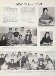 Page 10, 1958 Edition, California High School - Talon Yearbook (Whittier, CA) online yearbook collection
