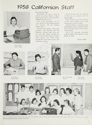 Page 11, 1958 Edition, California High School - Talon Yearbook (Whittier, CA) online yearbook collection
