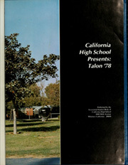 Page 7, 1978 Edition, California High School - Talon Yearbook (Whittier, CA) online yearbook collection