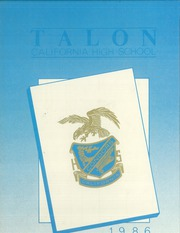 1986 Edition, California High School - Talon Yearbook (Whittier, CA)