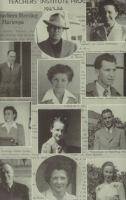 Page 8, 1944 Edition, Maricopa High School - La Revista Yearbook (Maricopa, CA) online yearbook collection