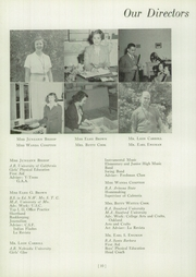Page 14, 1951 Edition, Maricopa High School - La Revista Yearbook (Maricopa, CA) online yearbook collection
