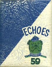 1959 Edition, Fall River High School - Echoes Yearbook (McArthur, CA)