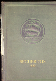 1933 Edition, McFarland High School - Recuerdos Yearbook (McFarland, CA)