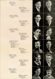Page 11, 1936 Edition, Merced Union High School - El Rodeo Yearbook (Merced, CA) online yearbook collection