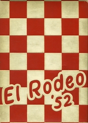 1952 Edition, Merced Union High School - El Rodeo Yearbook (Merced, CA)