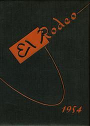 1954 Edition, Merced Union High School - El Rodeo Yearbook (Merced, CA)