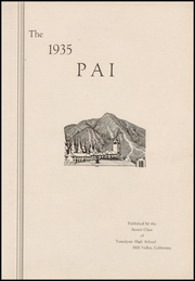 Page 7, 1935 Edition, Tamalpais High School - Pai Yearbook (Mill Valley, CA) online yearbook collection
