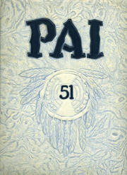 Tamalpais High School - Pai Yearbook (Mill Valley, CA) online yearbook collection, 1951 Edition, Page 1