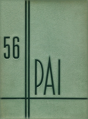 Tamalpais High School - Pai Yearbook (Mill Valley, CA) online yearbook collection, 1956 Edition, Page 1