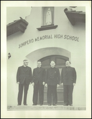 Page 10, 1956 Edition, Junipero Memorial High School - El Roble Yearbook (Monterey, CA) online yearbook collection