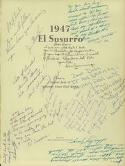 Page 5, 1947 Edition, Monterey High School - El Susurro Yearbook (Monterey, CA) online yearbook collection