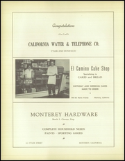 Page 104, 1949 Edition, Monterey High School - El Susurro Yearbook (Monterey, CA) online yearbook collection