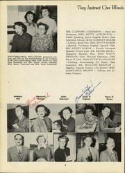 Page 12, 1952 Edition, Monterey High School - El Susurro Yearbook (Monterey, CA) online yearbook collection