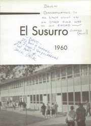 Page 7, 1960 Edition, Monterey High School - El Susurro Yearbook (Monterey, CA) online yearbook collection