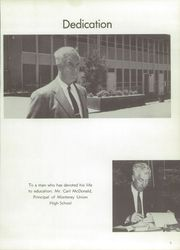 Page 9, 1960 Edition, Monterey High School - El Susurro Yearbook (Monterey, CA) online yearbook collection