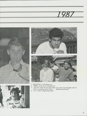 Page 9, 1987 Edition, York School - Peregrine Yearbook (Monterey, CA) online yearbook collection
