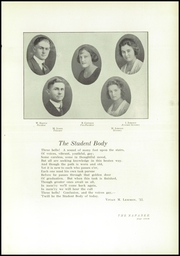 Page 9, 1921 Edition, Napa High School - Napanee Yearbook (Napa, CA) online yearbook collection