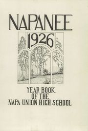 Page 5, 1926 Edition, Napa High School - Napanee Yearbook (Napa, CA) online yearbook collection