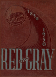 1950 Edition, Sweetwater High School - Red and Gray Yearbook (National City, CA)