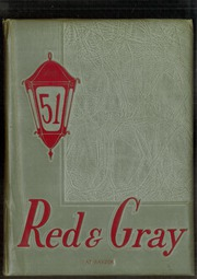 1951 Edition, Sweetwater High School - Red and Gray Yearbook (National City, CA)