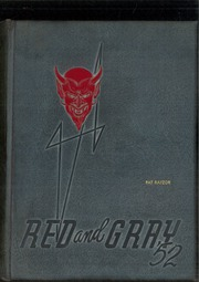 1952 Edition, Sweetwater High School - Red and Gray Yearbook (National City, CA)
