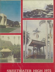 1975 Edition, Sweetwater High School - Red and Gray Yearbook (National City, CA)
