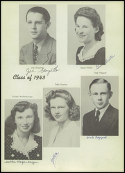 Page 9, 1943 Edition, East Nicolaus High School - Leaves of Yesterday Yearbook (Nicolaus, CA) online yearbook collection