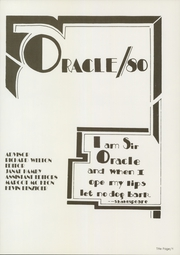 Page 5, 1980 Edition, Oakdale High School - Oracle Yearbook (Oakdale, CA) online yearbook collection