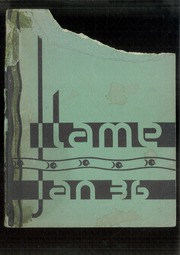 Fremont High School - Flame Yearbook (Oakland, CA) online yearbook collection, 1936 Edition, Page 1