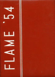 1954 Edition, Fremont High School - Flame Yearbook (Oakland, CA)