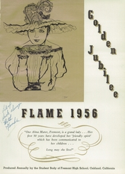 Page 5, 1956 Edition, Fremont High School - Flame Yearbook (Oakland, CA) online yearbook collection