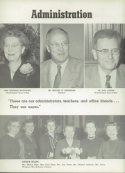 Page 8, 1956 Edition, Fremont High School - Flame Yearbook (Oakland, CA) online yearbook collection