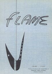 Page 5, 1957 Edition, Fremont High School - Flame Yearbook (Oakland, CA) online yearbook collection