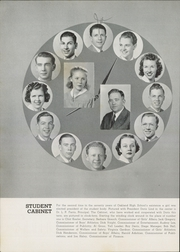 Page 10, 1940 Edition, Oakland High School - Oaken Bucket Yearbook (Oakland, CA) online yearbook collection
