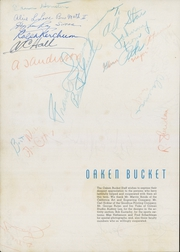 Page 6, 1940 Edition, Oakland High School - Oaken Bucket Yearbook (Oakland, CA) online yearbook collection