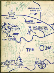 Page 2, 1955 Edition, Nordhoff High School - Topa Topa Yearbook (Ojai, CA) online yearbook collection