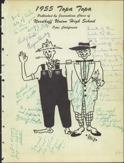 Page 5, 1955 Edition, Nordhoff High School - Topa Topa Yearbook (Ojai, CA) online yearbook collection