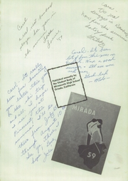 Page 5, 1959 Edition, Miramonte High School - Mirada Yearbook (Orinda, CA) online yearbook collection